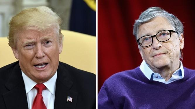 cựu Chủ tịch Microsoft đã có hai lần gặp gỡ Tổng thống Trump (ảnh: Getty Images)