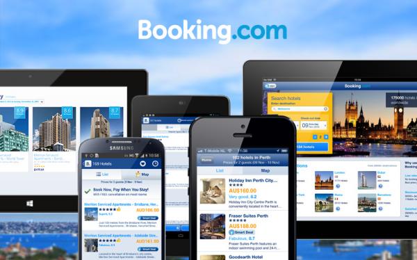 Booking.com là một website về du lịch khá nổi tiếng