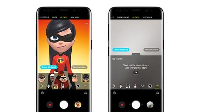 Galaxy S9/S9+ được bổ sung thêm AR emoji mới