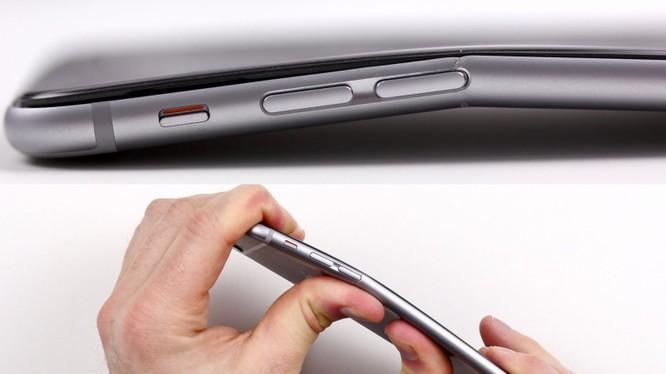 Có thể bẻ cong iPhone 6 bằng tay (ảnh 9to5Mac)