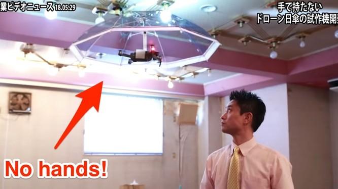 Ô bay là sự kết hợp của drone và trí thông minh nhân tạo (ảnh cắt từ clip)