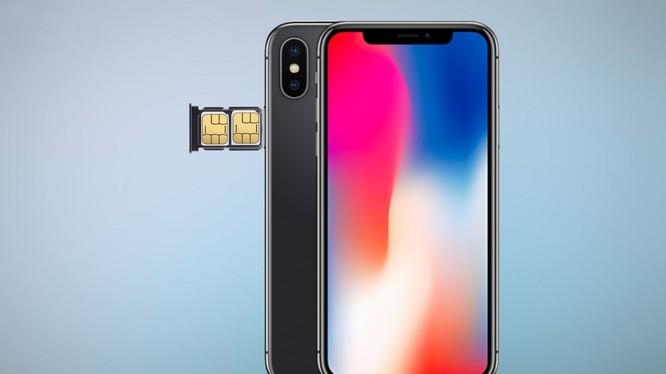iPhone 2018 sẽ có sim kép? (ảnh GNtech)
