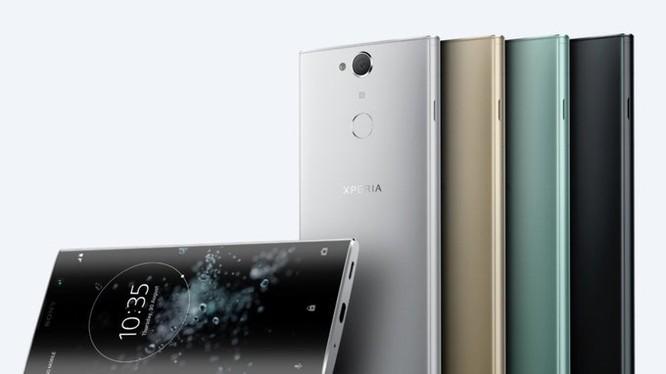 Sony âm thầm ra mắt mẫu Xperia XA2 (ảnh: Phone Arena)