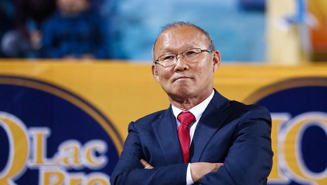 Huấn luyện viên Park Hang Seo (ảnh: thethaovanhoa)