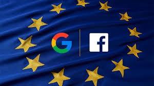 Google và Facebook sẽ phải trả tiền cho các hãng truyền thông châu Âu nếu một bộ luật về bản quyền được thông qua vào ngày 12/9 tới đây (ảnh: Adweek)