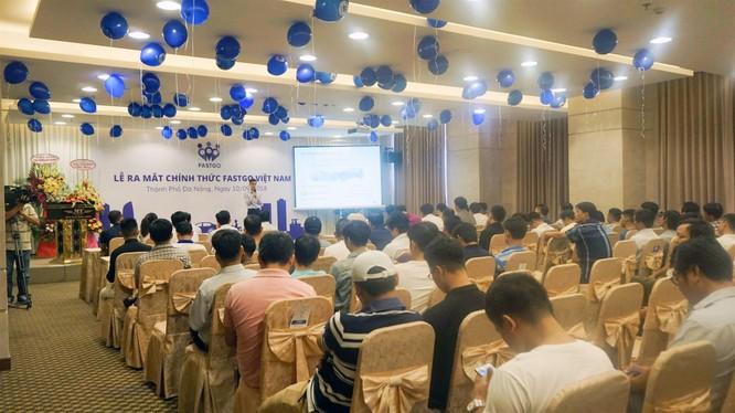 Sự kiện ra mắt FastGo tại Đà Nẵng (ảnh: FastGo Việt Nam)