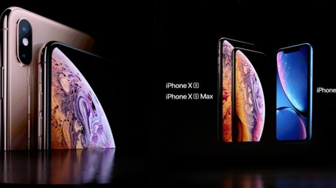 Apple vừa cho ra mắt bộ 3 iPhone mới vào ngày 12/9