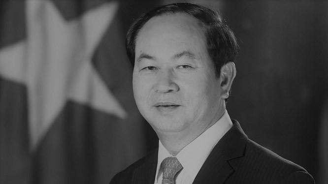Chủ tịch nước Trần Đại Quang (ảnh: vpctn.gov.vn)