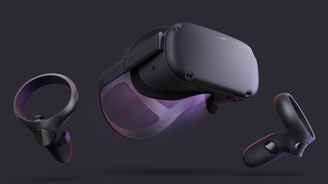 Kính thực tế ảo Oculus Quest (ảnh: Facebook)