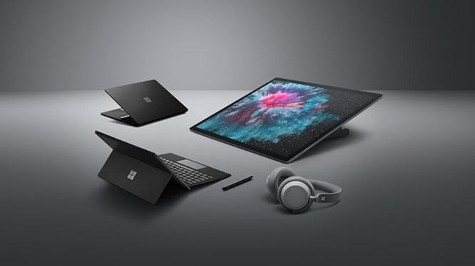 4 thiết bị mang thương hiệu Surface đã được Microsoft cho ra mắt vào tối qua