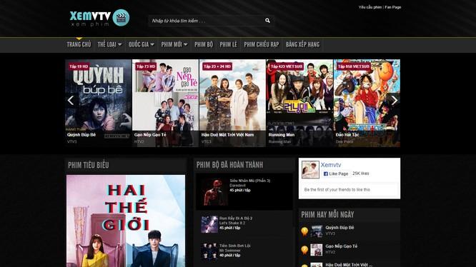 Các bộ phim đang chiếu trên VTV bị phát bất hợp pháp trên Internet