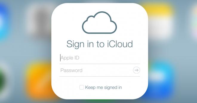 iCloud đang găp sự cố gián đoạn