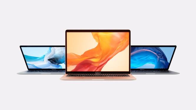 Macbook Air đã được trang bị màn hình Retina