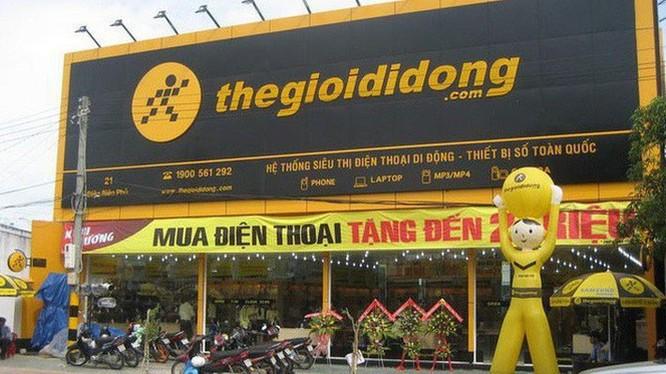 Thế Giới Di Động là chuỗi bán lẻ sản phẩm công nghệ lớn nhất Việt Nam