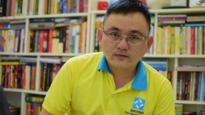 1. Cao Trung Hiếu – CEO của DantriSoft mong muốn doanh nghiệp Việt được hoạt động trong môi trường tốt hơn (ảnh: Hòa Bình)