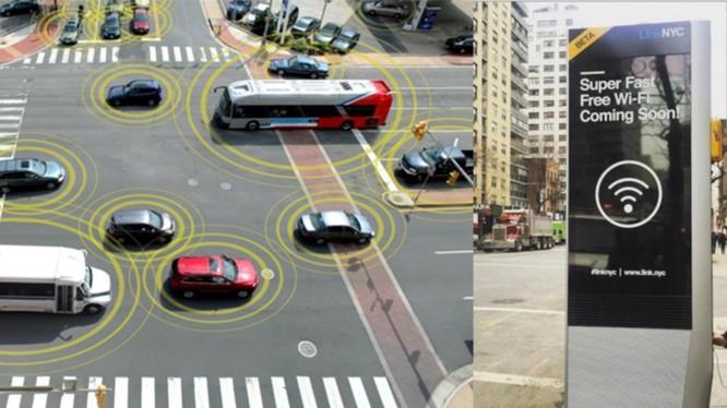 5G và phương tiện giao thông kết nối với nhau là 2 yếu tố then chốt để giải bài toán giao thông đô thị (ảnh: Bike Portland)