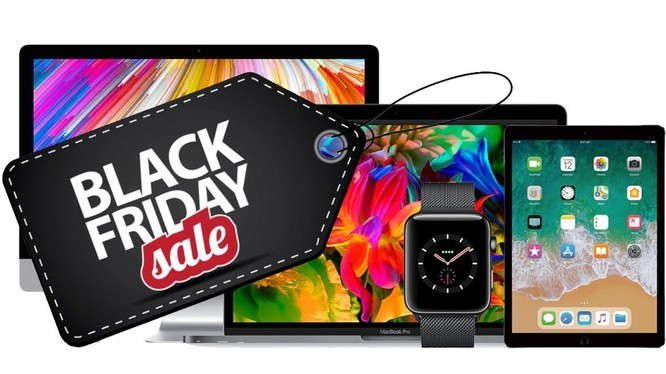Sản phẩm của Apple không được giảm giá nhiều trong dịp Black Friday (ảnh: YouTube)
