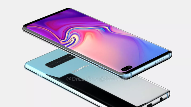 Ảnh dựng Galaxy S10+ (Phone Arena)