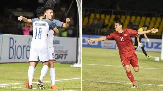 Việt Nam và Philippines đã cống hiến cho khán giả một trận đấu tuyệt vời (ảnh: Fox Sport)