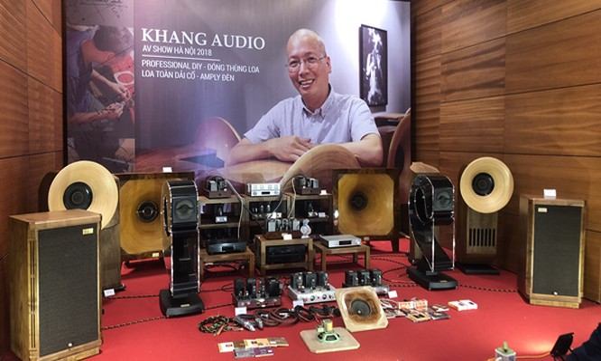 Các thiết bị nghe nhìn của Khang Audio