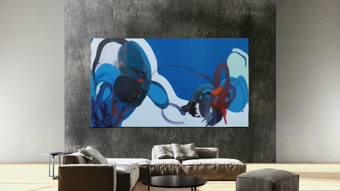 """tivi """"Bức tường"""" 219 inch của Samsung (ảnh: Samsung)"""