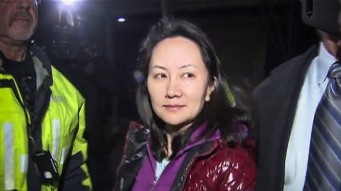 Bà Mạnh Vãn Châu đang bị quản thúc tại Canada (ảnh: South China Morning Post)