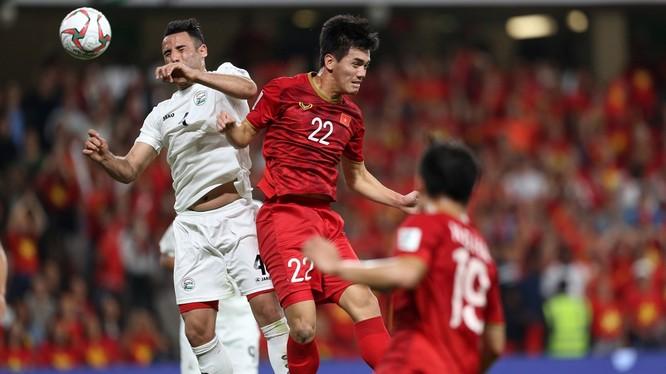 Tiến Linh đã có trận thi đấu dưới sức (ảnh: Goal.com)