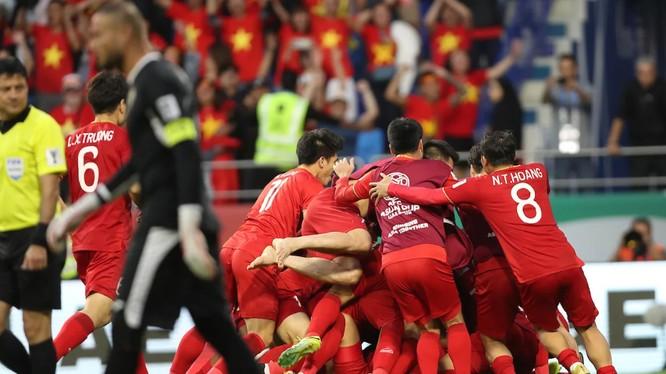Đội tuyển Việt Nam đã có một trận đấu tuyệt hay trước Jordan