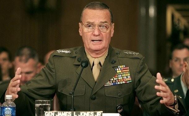 Đại tướng James Jones (ảnh: Huffington Post)