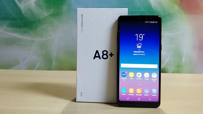 Galaxy A8+ 2018 (ảnh: Techarena)