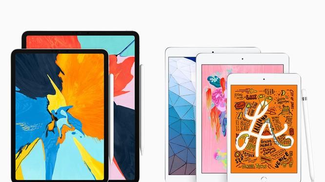 iPad Air và iPad mini 2019 không có đột phá về thiết kế khi nó vẫn mang dáng dấp giống các phiên bản trước đây (ảnh: Apple)