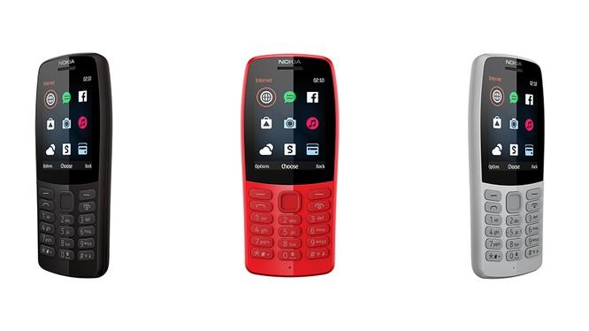 Nokia 210 là điện thoại thuộc phân khúc giá rẻ