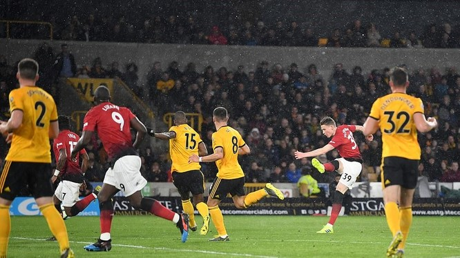 MU đã có một trận đấu đáng quên trước Wolverhampton (ảnh: Getty Images)