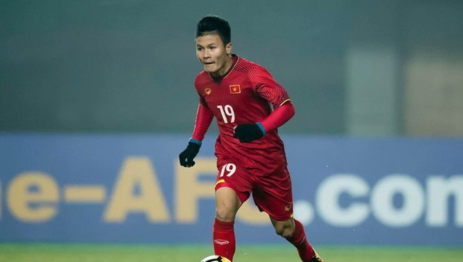 Nguyễn Quang Hải là một trong những cầu thủ xuất sắc nhất của bóng đá Việt Nam hiện tại