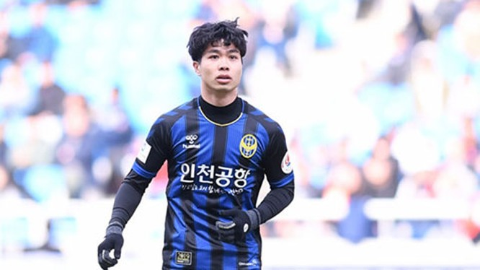 Công Phượng đang khát khao ghi bàn trong màu áo Incheon United (ảnh:Incheon United FC)