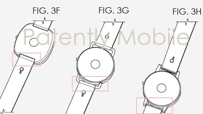 Bằng sáng chế của Google cho thấy hãng này có ý định sản xuất đồng hồ thông minh (ảnh: Patently Mobile)