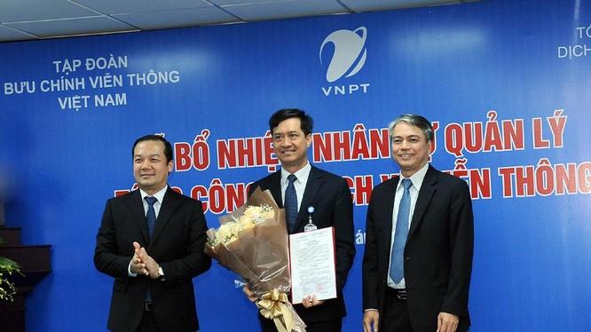 ông Nguyễn Nam Long được bổ nhiệm vào vị trí Tổng giám đốc VNPT-VinaPhone