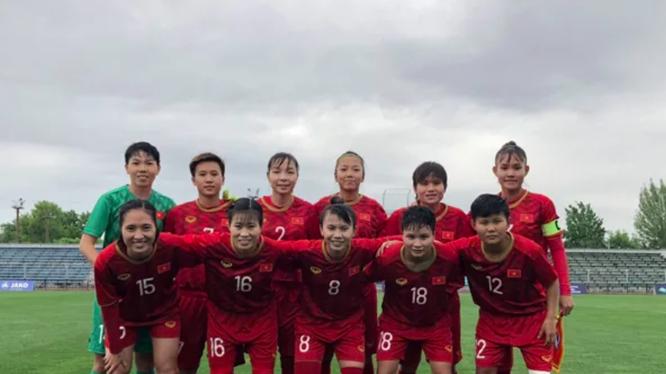 Tuyển nữ Việt Nam đang thi đấu dưới sự dẫn dắt của HLV Mai Đức Chung (ảnh: Fox Sport)
