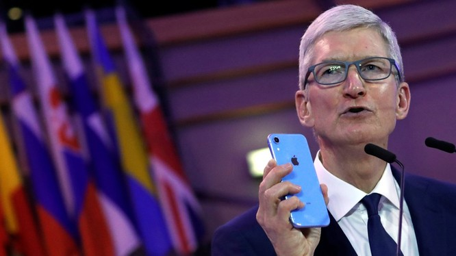 ông Tim Cook, CEO Apple (ảnh: Business Insider)