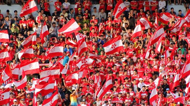 Khán giả Hải Phòng hoàn toàn tin tưởng đội bóng đất Cảng sẽ có 3 điểm trước Thanh Hóa
