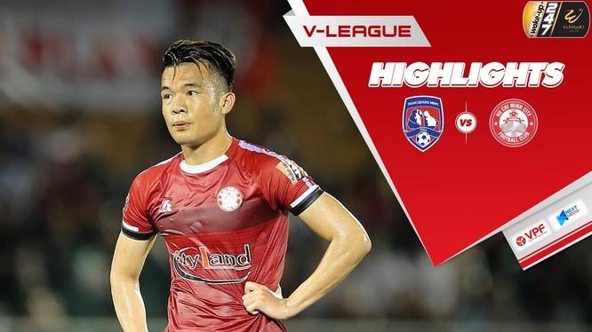 Hoàng Thịnh đã giúp TP.HCM duy trì ngôi đầu V.League