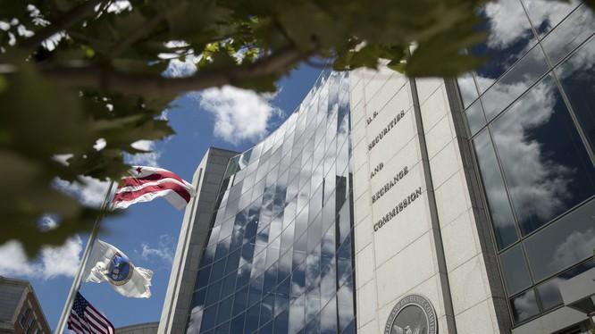 Trụ sở Ủy ban Chứng khoán và Sàn giao dịch Hoa Kỳ (ảnh: AP)