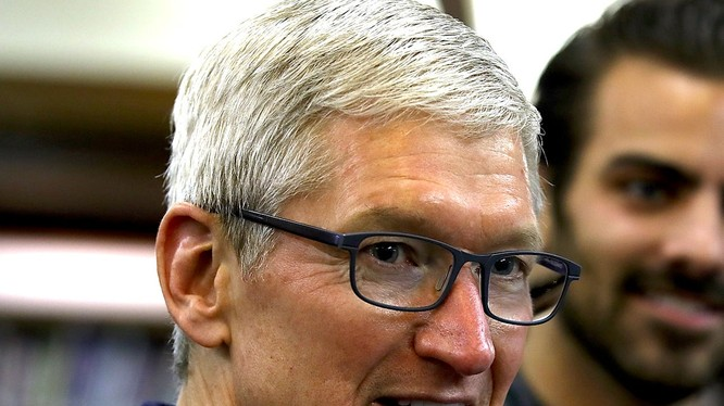 Tim Cook - CEO Apple (ảnh Getty Images)