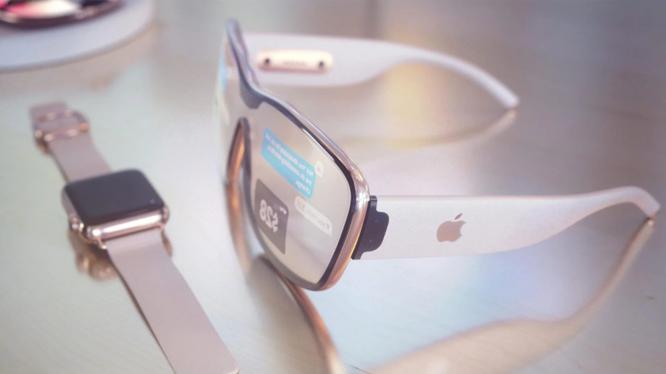 Kính thông minh Apple theo tưởng tượng của nhà thiết kế Martin Hajek