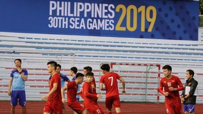 U22 Việt Nam sẽ có trận đấu nhàn nhã trước U22 Brunei? (ảnh VnMedia)
