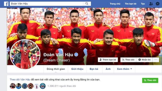 Fanpage chính thức của Đoàn Văn Hậu