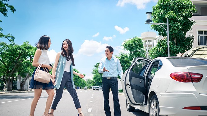 Taxi công nghệ là loại hình vận tải mới nổi lên trong vài năm gần đây