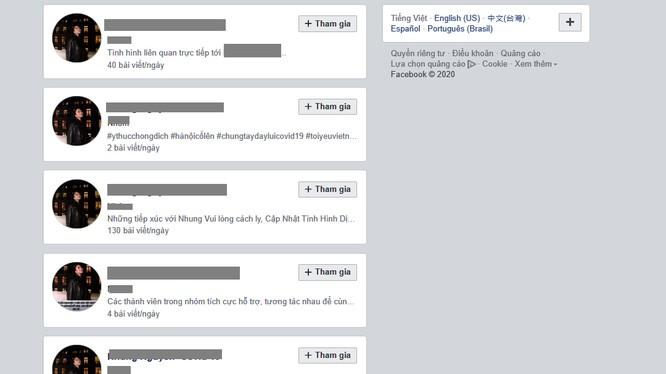 Rất nhiều tài khoản giả mạo và ăn theo đã xuất hiện trên Facebook