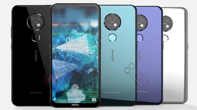 Nokia 7.2 là mẫu smartphone tầm trung của HMD Global