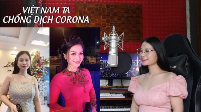 """Ca sĩ Trần Trang Dung với bài hát """"Việt Nam ta chống dịch Corona"""" được cộng đồng mạng ngợi khen"""